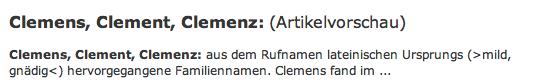 dudenclemens