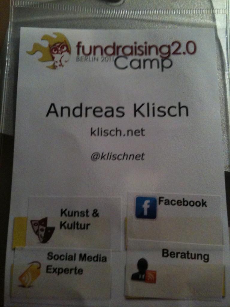 Erst die Pflicht dann die Kür - fundraising 2.0